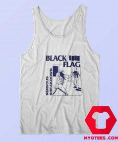 Black Flag Nervous Breakdown Rock Band Tank Top