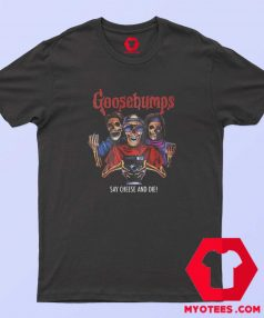 Changes Goosebumps Scary Puppet T Shirt