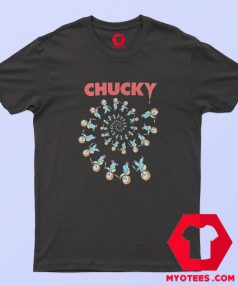Childs Play Spiral of Scary Chucky Halloween T Shirt