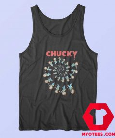 Childs Play Spiral of Scary Chucky Halloween Tank Top