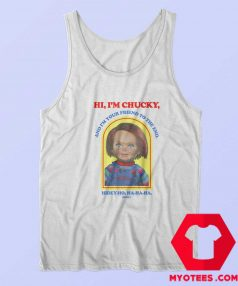 Chucky Hi Im Chucky Funny Unisex Tank Top