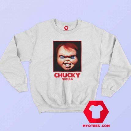 Chucky Movie Child Play Horror Retro Sweatshirt