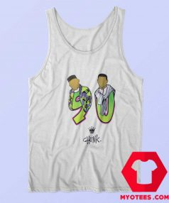 Chunk Fresh Prince 90 Print Retro Tank Top