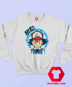 Cool Ash Ketchum Airbrushed Unisex T Shirt