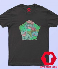 Cute Bulbasaur Pokemon Evolution T Shirt
