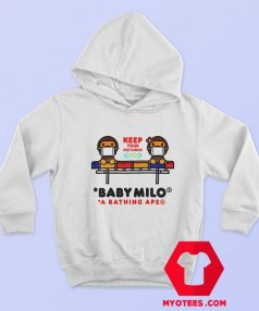 Cute Social Distance Baby Milo Unisex Hoodie
