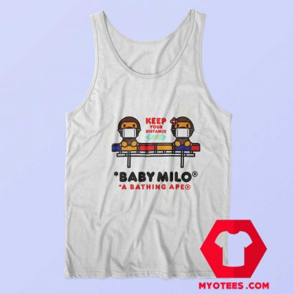 Cute Social Distance Baby Milo Unisex Tank Top