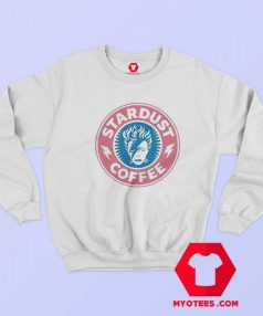David Bowie Vintage Stardust Coffee Sweatshirt