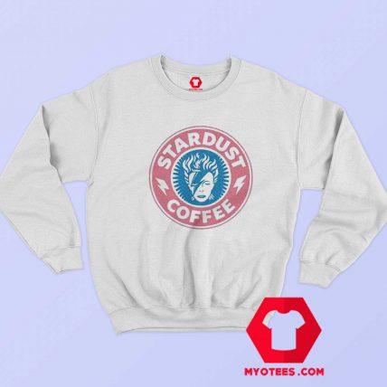 David Bowie Vintage Stardust Coffee Sweatshirt