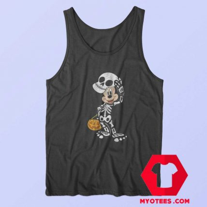 Disney Halloween Micke Mouse Skeleton Tank Top