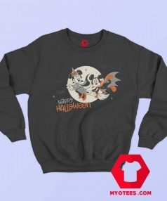 Disney Halloween Minnie and Minnie Flying Sweatshirt