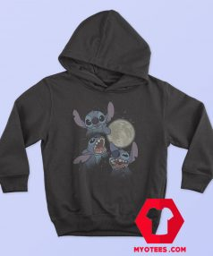 Disney Lilo Full Moon Three Stitch Hoodie