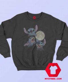 Disney Lilo Full Moon Three Stitch Sweatshirt