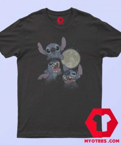 Disney Lilo Full Moon Three Stitch T Shirt