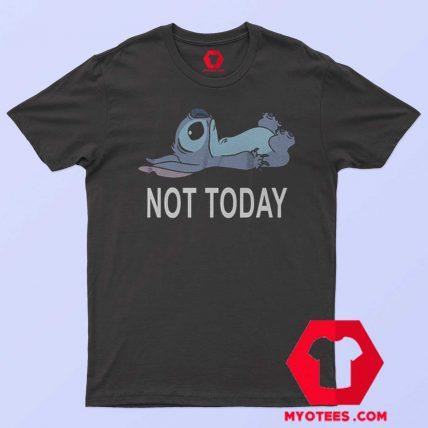 Disney Lilo Stitch Not Today T Shirt