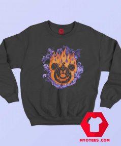 Disney Mickey Donald Goofy Halloween Sweatshirt