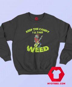 Electric Guitar Halloween Rock Zombie Sweatshirt