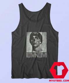 Eminem Horror Skull Face Rap God Tank Top