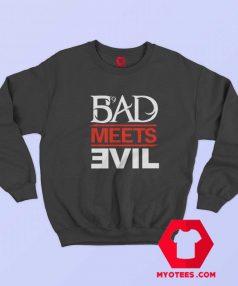Eminem Rapper Bad Meets Evil Album Sweatshirt
