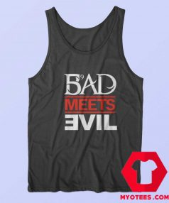Eminem Rapper Bad Meets Evil Album Tank Top