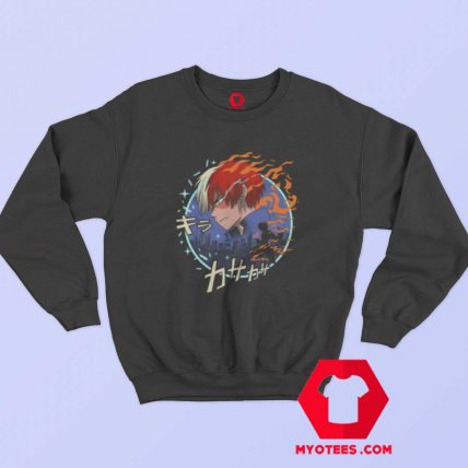 Fire And Ice My Hero Academia Unisex Sweatshirt