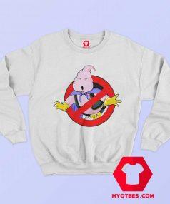 Funny Dragon Ball Majin Buu Ghostbuster Sweatshirt