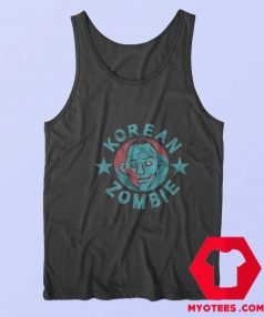 Funny Korean Zombie Halloween Tank Top