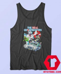 Ghostbusters Halloween Crew Collage Tank Top