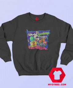 Goosebumps Skateboard Skeleton Sweatshirt
