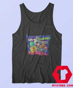 Goosebumps Skateboard Skeleton Tank Top