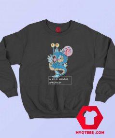 Gyarados Pokemon Gary Spongebob Sweatshirt