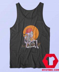 Halloween Boys Gamer Skeleton Unisex Tank Top
