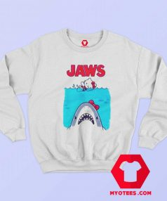 Hello Kitty Jaws Parody Unisex Sweatshirt