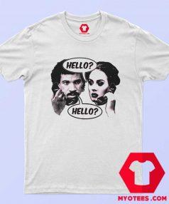 Hello Lionel Adele Funny Parody Unisex T Shirt