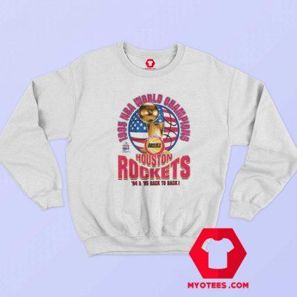 Houston Rockets 1995 World Champions Sweatshirt