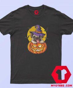 Jack O Lantern Halloween Pugkin Pumpkin T Shirt