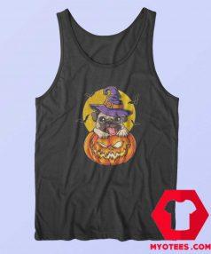 Jack O Lantern Halloween Pugkin Pumpkin Tank Top