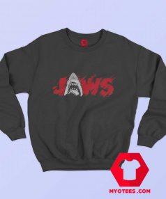 Jaws Classic Thrash Icon Script Vintage Sweatshirt