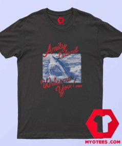 Jaws Welcome You Amity Island T Shirt