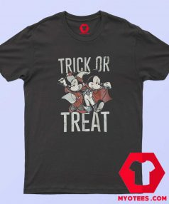 Mickey And Minnie Trick or Treat Halloween T Shirt