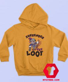 Mickey Mouse Surrender Yer Loot Halloween Hoodie