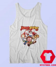 Monster Babies Horror Cartoon Halloween Tank Top