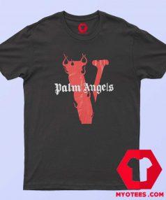Palm angels X Vlone Flames Unisex T Shirt