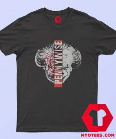 Pennywise Chapter Two Split Face T Shirt