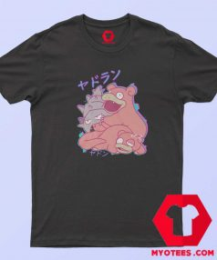 Pokemon Slowpoke and Slowbro Funny T Shirt