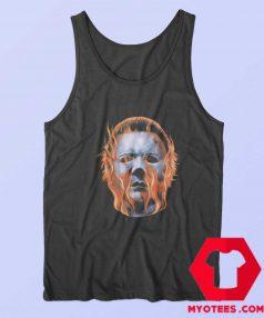 Rock Rebel Halloween Michael Myers Flames Tank Top