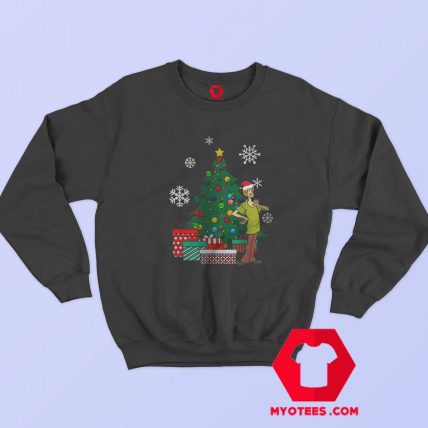 Shaggy Rogers Mystery Inc Happy Christmas Sweatshirt