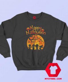 Snoopy And Charlie Happy Halloween Sweatshirt