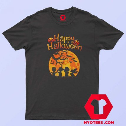 Snoopy And Charlie Happy Halloween T Shirt