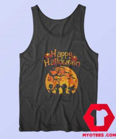 Snoopy And Charlie Happy Halloween Tank Top